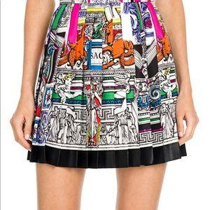 BNWT Versace silk mini skirt